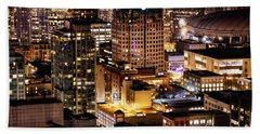 Beach Towel featuring the photograph Metropolis Vancouver Mdccxv  by Amyn Nasser