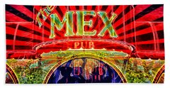 Mex Party Beach Towel