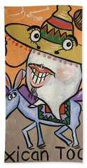 Mexican Tooth Beach Towel
