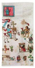 Mexico Cortes, 1519 Beach Towel