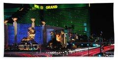 Mgm Grand Hotel And Casino Beach Towel