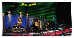 Mgm Grand Hotel And Casino Beach Towel