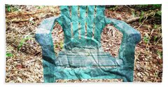Mi Silla De Papel  Beach Towel by Carlos Avila
