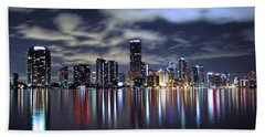 Miami Skyline Beach Sheet