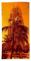 Miami South Pointe Iv Beach Towel