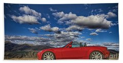 Miata Beach Towel by Jason Abando