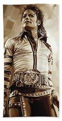 Michael Jackson Artwork 2 Beach Towel
