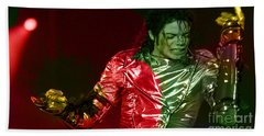 Michael Jackson Painting Beach Towel