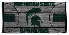 Michigan State Spartans Beach Towel