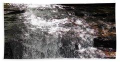 Middle Chapel Brook Falls Beach Towel