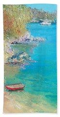 Middle Harbour Sydney Beach Towel