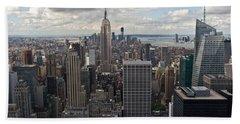 Midtown Manhattan Beach Towel