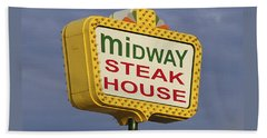 Midway Seaside Heights Boardwalk Nj Beach Towel