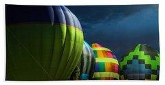 Midwest Balloon Glow Beach Towel