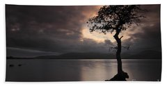 Milarrochy Bay Sunset Beach Towel