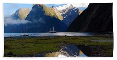 Milford Sound Beach Sheet