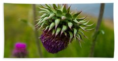 Milk Thistle Beach Towel