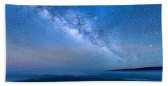 Milky Way Suspended Above Mauna Loa 1 Beach Towel