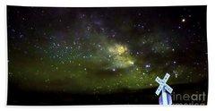 Milkyway  Crossing Blur Beach Towel