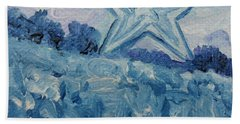 Mill Mountain Star Beach Towel