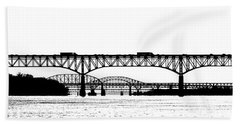 Millard Tydings Memorial Bridge Beach Towel
