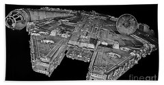 Millennium Falcon Beach Sheet