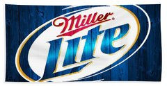 Miller Lite Barn Door Beach Towel