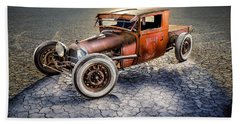 Millers Chop Shop 1929 Model A Truck Beach Towel