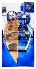 Millers Chop Shop Boattail Roadster Beach Towel