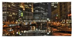 Milwaukee River Beach Towel