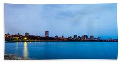Milwaukee Skyline - Version 1 Beach Sheet