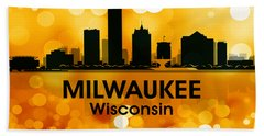 Milwaukee Wi 3 Beach Towel