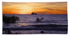 Mindil Beach Sunset Beach Sheet by Venetia Featherstone-Witty