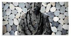 Mineral Buddha Beach Towel