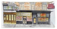 Minetta Tavern  Greenwich Village Beach Sheet
