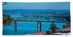 Miniature Bridge Beach Towel