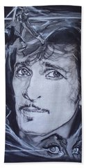 Mink Deville - Coup De Grace Beach Towel by Sean Connolly