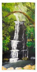 Minnumurra Falls Beach Towel