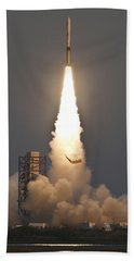 Minotaur I Launch Beach Towel by Science Source