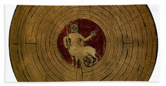 Minotaur, Legendary Creature Beach Towel by Photo Researchers