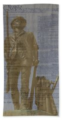 Minuteman Constitution Beach Towel