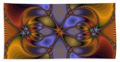 Mirror Butterfly Beach Sheet