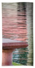 Beach Towel featuring the photograph Mirror To The Soul by Deb Halloran