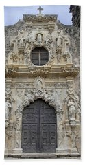 Mission San Jose Doorway Beach Towel