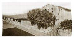 Mission San Luis Obispo De Tolosa California 1880  Beach Towel by California Views Mr Pat Hathaway Archives