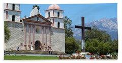 Mission Santa Barbara Beach Sheet