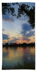 Missouri River Glow Beach Towel