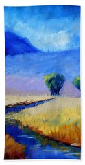 Mist In The Mountains Beach Towel