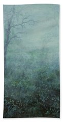 Mist On The Meadow Beach Sheet