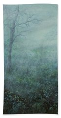 Mist On The Meadow Beach Towel